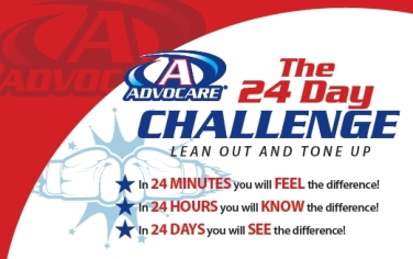 24 Day Challenege promo