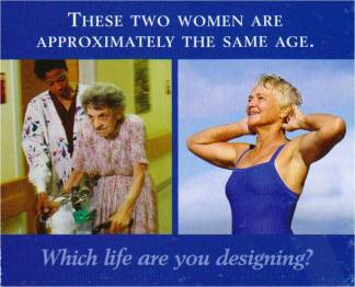 Two women same age